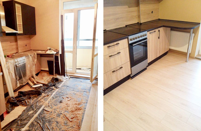 Генеральная уборка 3-комнатной квартиры